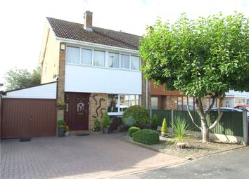 Thumbnail 3 bed semi-detached house for sale in Heronswood Drive, Spondon, Derby