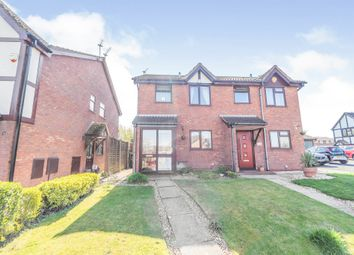 Thumbnail 2 bed semi-detached house for sale in Woburn Drive, Brierley Hill