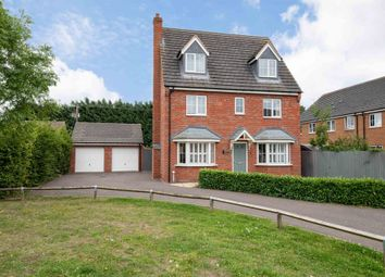 Thumbnail 5 bed detached house for sale in Tooley Way, Deeping St. James, Peterborough