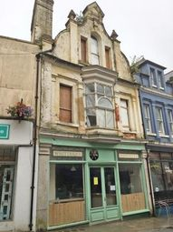 Thumbnail Commercial property for sale in 91 Fore Street, Redruth, Cornwall