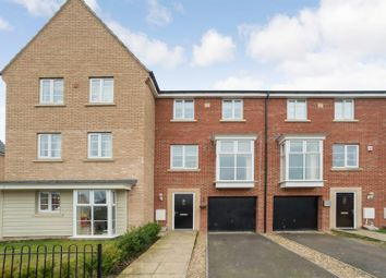 Thumbnail 4 bedroom terraced house for sale in Molyneux Square, Hampton Vale, Peterborough