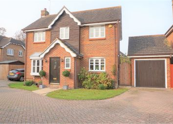 Thumbnail 3 bed detached house for sale in Waltham Close, Brentwood