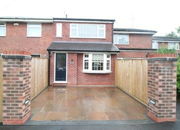 Thumbnail 3 bed terraced house for sale in Butterfield Close, Cheadle Hulme, Cheshire