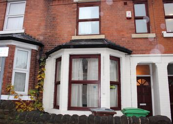 Thumbnail 7 bed terraced house to rent in Balfour Road, Nottingham
