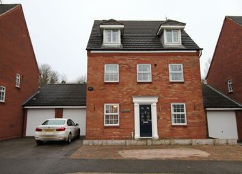 Thumbnail 5 bed detached house for sale in Navigation Drive, Glen Parva, Leicester