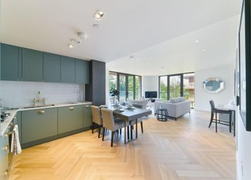 Thumbnail 2 bed flat for sale in Lessing Building, West Hampstead Square, London
