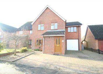 Thumbnail 4 bedroom detached house for sale in Harvesters Way, Martlesham Heath, Ipswich