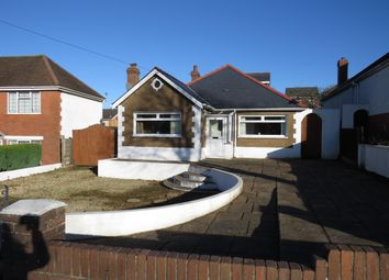 Thumbnail 4 bed detached bungalow for sale in Pontypridd Road, Barry