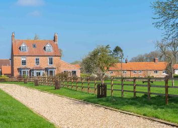 Thumbnail 5 bed equestrian property for sale in Chapel Lane, Caythorpe, Grantham