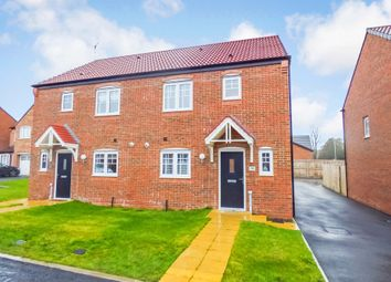 Thumbnail Semi-detached house for sale in Preston Square, Morpeth