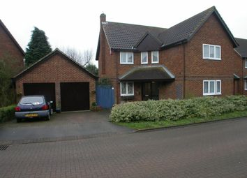 Thumbnail 4 bed detached house to rent in Willen, Milton Keynes
