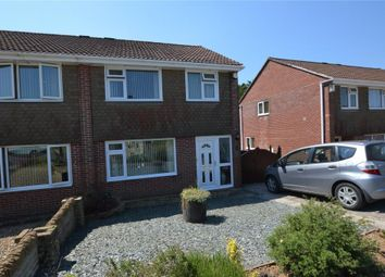 Thumbnail 3 bed semi-detached house for sale in Canefields Avenue, Plymouth, Devon