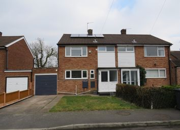 Thumbnail 3 bed semi-detached house for sale in Thorpe Drive, Mickleover, Derby
