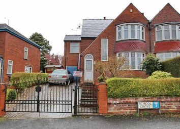 Thumbnail 4 bedroom semi-detached house for sale in School Grove, Prestwich, Manchester