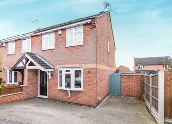 Thumbnail 3 bed semi-detached house for sale in Holden Close, Whetstone, Leicester
