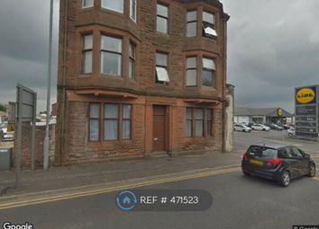 Thumbnail 1 bedroom flat to rent in High Glencairn St, Kilmarnock