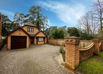 Thumbnail 3 bed detached house for sale in New Wokingham Road, Crowthorne, Berkshire