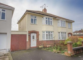 Thumbnail 3 bed semi-detached house for sale in Cleeve Lodge Road, Downend, Bristol