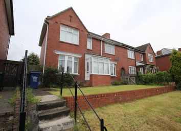 Thumbnail 4 bedroom semi-detached house for sale in Meadowdale Crescent, Newcastle Upon Tyne