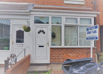 Thumbnail 3 bed terraced house for sale in Greswolde Road, Sparkhill