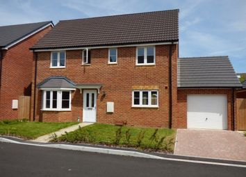 Thumbnail 4 bed detached house to rent in Poppy Fields, Upper Stratton, Swindon