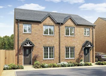 "Thumbnail 3 bed semi-detached house for sale in ""The Gosford - Plot 34"" at Stumpcross Lane, Pontefract"