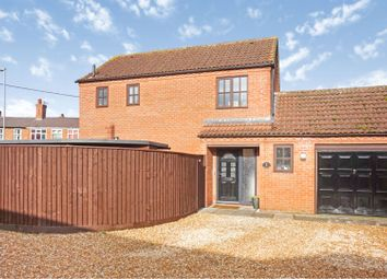 Thumbnail 3 bed link-detached house for sale in Cemetery Road, Wragby