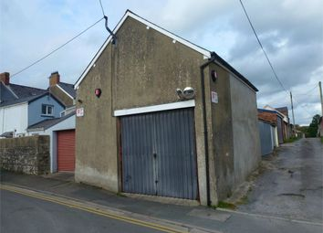 Thumbnail Property for sale in Lock-Up Garage/Workshop, Maesyrhaf, Cardigan, Ceredigion