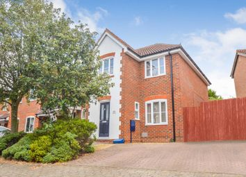Thumbnail 3 bed end terrace house for sale in Holyhead Crescent, Tattenhoe, Milton Keynes