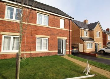Thumbnail 3 bed semi-detached house for sale in Longhill Court, Browney, Durham