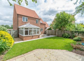 Thumbnail 3 bed detached house for sale in Mill Close, Hempton, Fakenham