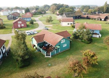 Thumbnail 4 bedroom lodge for sale in Caldecott Road, Fritton, Great Yarmouth