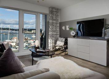 Thumbnail 2 bedroom flat for sale in 99 Riverside Quay, Endle Street, Southampton