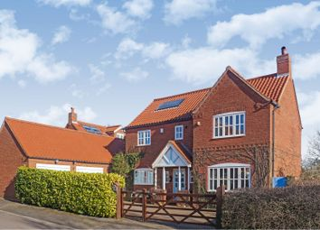 Thumbnail 4 bed detached house for sale in Moorland Close, Carlton Le Moorland, Lincoln