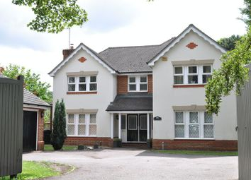 Thumbnail 4 bed detached house for sale in Leatherhead Road, Leatherhead