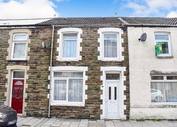 3 bed terraced house for sale in High Street, Pontycymer, Bridgend. CF32