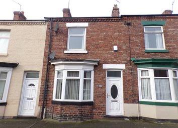 Thumbnail 2 bedroom terraced house to rent in Barron Street, Darlington
