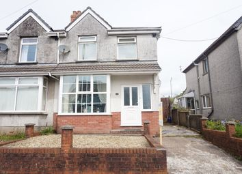 Thumbnail 2 bed semi-detached house for sale in Central Avenue, Cefn Fforest, Blackwood