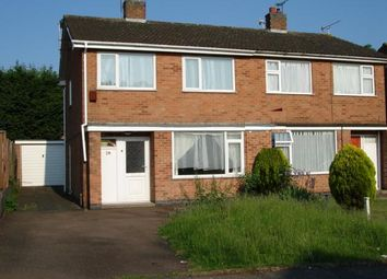 Thumbnail 3 bed semi-detached house to rent in Waveney Rise, Oadby, Leicester