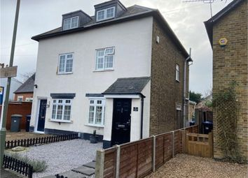 3 bed semi-detached house for sale in Simplemarsh Road, Addlestone, Surrey KT15