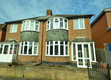 Thumbnail 3 bed semi-detached house for sale in Greenhill Road, Leicester