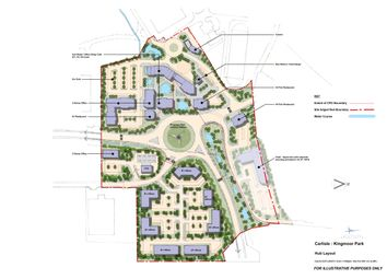 Thumbnail Land for sale in Kingmoor Park, Enterprise Zone Status, Carlisle