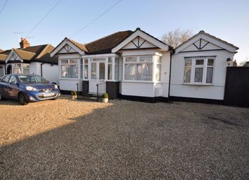 Thumbnail 3 bed bungalow to rent in Fairholme Avenue, Gidea Park, Romford