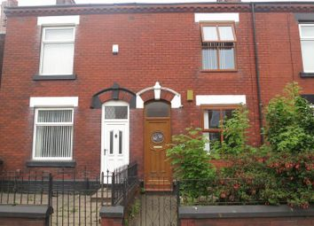 Thumbnail 2 bed terraced house to rent in Stockport Road, Denton, Manchester