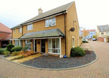 Thumbnail 2 bed semi-detached house for sale in Paul Harman Close, Ashford