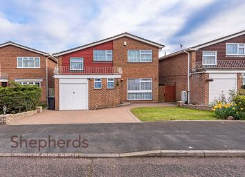 Thumbnail 4 bedroom detached house to rent in Broom Close, West Cheshunt, Hertfordshire