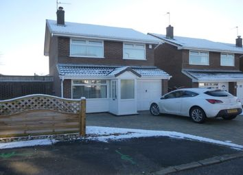 Thumbnail 3 bed detached house to rent in Snabwood Close, Little Neston, Neston