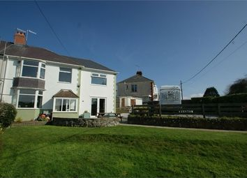 Thumbnail 4 bed semi-detached house for sale in Norton Drive, Southgate, Swansea