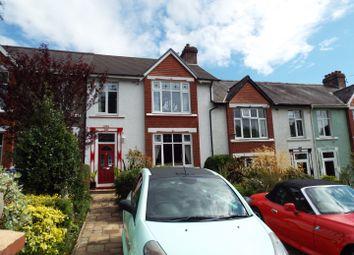 Thumbnail 4 bedroom terraced house for sale in 14 Penlan Crescent, Uplands, Swansea