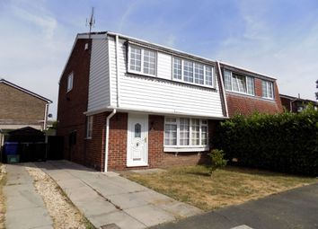 Thumbnail 3 bed semi-detached house to rent in Farringdon Drive, New Rossington, Doncaster